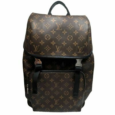 478f95a82593 LOUIS VUITTON ZACK Backpack M43409 Fragment Monogram Eclipse Bag NEW ...