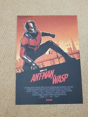 Ant-Man and The Wasp, Poster Original Marvel exclusive Odeon.