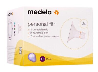 Medela PersonalFit Breast Shield x2  Size XL  Xlarge , 30 mm FREE P&P