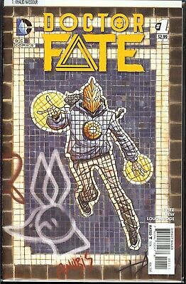 Doctor Fate #1 First Appearance Khalid Nassour DC Comics 2015 Movie VF/NM