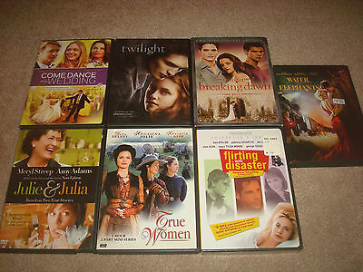 Drama DVD LOT Hallmark Channel Come Dance at my Wedding True Women Twilight Dawn