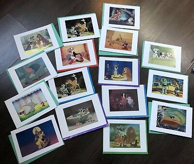 Disney The Archive Collection Cards 16 Disney Cards