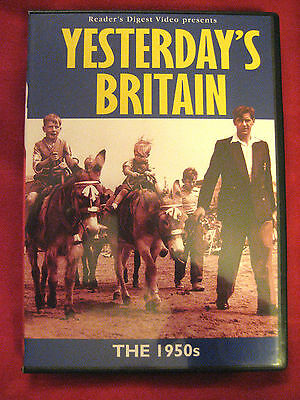 YESTERDAYS  BRITAIN  ( THE1950s )  A  READERS DIGEST  DVD