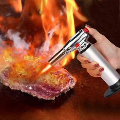 Butane Cooking Gas Micro Jet Blow Torch Lighter Welding Burning Iron Heating