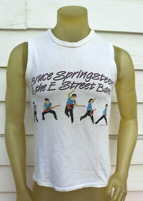 7a1ee196 Vtg BRUCE SPRINGSTEEN 1984-85 World Tour / Born In the USA / Concert T