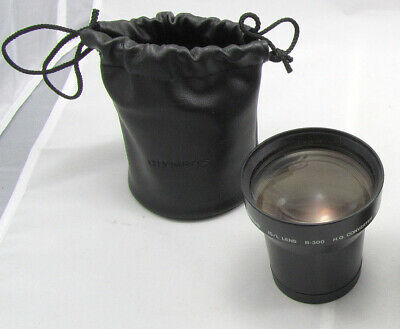 OLYMPUS IS/L B-300 Lens H.Q.Converter 1.7X with Pouch & Lens Caps