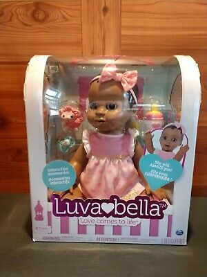 Brand New Luva💖bella™ Doll African American Doll In Original Factory Packaging