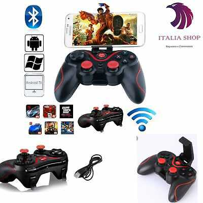 Wireless Gamepad Game Controller Bracket Android IOS Smartphone PC PS3