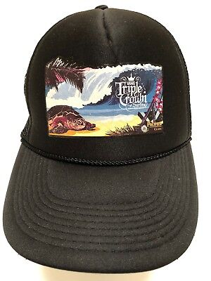 50e9ccf7 Vans Triple Crown Contest Hawaii Hawaiian Surfing Surfboard Surf Trucker Hat