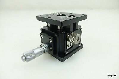MMT Used Manual Stage Z Axis MZ-637D-C1 60x60x49.5(62) Stroke 13mm STA-I-268
