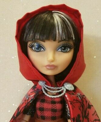 Ever After High Doll~Cerise Hood~1st Chapter~Plaid Red Black Ruffled Top