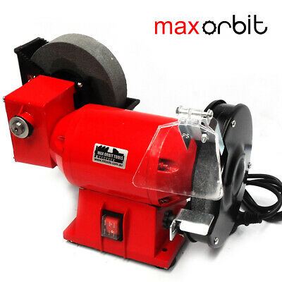 "150mm 6"" Bench Grinder Wet & Dry Wheel Quality Industrial Knife Sharpener 240V"