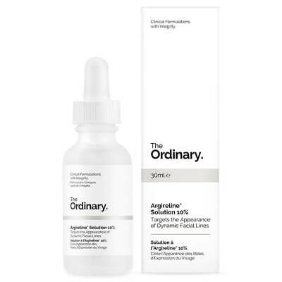 The Ordinary Argireline 10% Solution 30ml Remove Lines Wrinkles Sagging Face