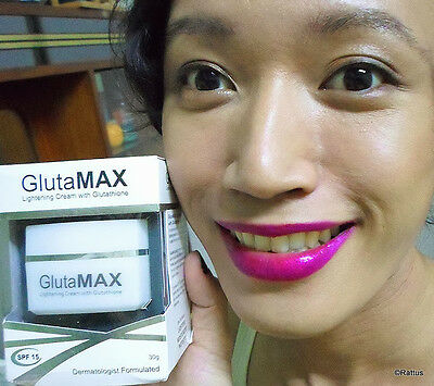 GlutaMAX Lightening Cream With Glutathione Freckles Age Spots Pigmentation