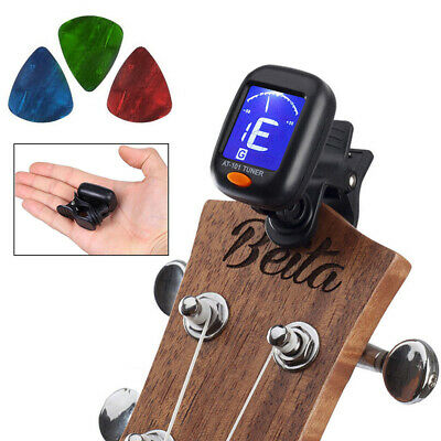 LED Digital Alarm Clock Changing Thermometer LCD Desk Bed Light 7 Colors