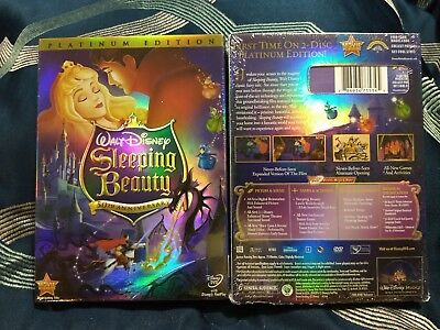 Disney SLEEPING BEAUTY (DVD, 2010, 2-Disc Platinum Edition) Brand new