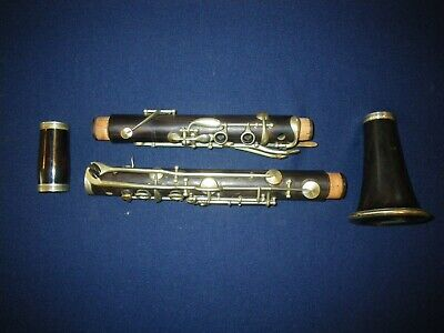 VINTAGE CARL FISCHER WOOD ALBERT SYSTEM CLARINET - KEY OF Bb LOW PITCH - BUFFET?