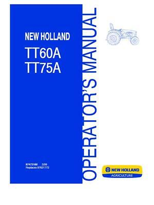 New Holland Tt A Tractor Wiring Diagram on