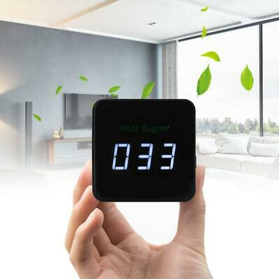 LED Display Mini PM2.5 Detector Air Quality Tester Monitor Meter Rechargeable