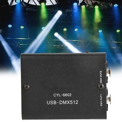 Mini 512- Channels USB to DMX512 Controller Console DMX-Stage Lighting Operator