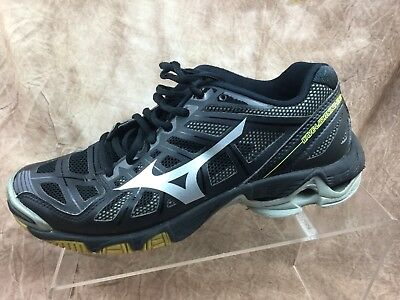 2531350f5e61 MIZUNO WAVE LIGHTNING RX2 Blue and Black Women's Volleyball Shoes Sz ...