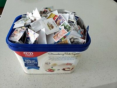 Bulk Aussie Stamps 5000 ( approx ). OFF PAPER !!