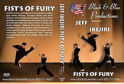 Martial Arts Hand Techniques and Combos taught by Jeff Ikejiri Instructional DVD