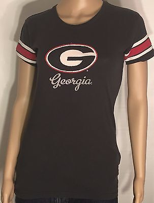 ad48685368ab Georgia Bulldogs UGA NCAA SEC College Team Logo 47 Brand Size Medium M T- shirt