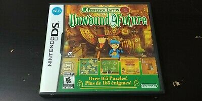 Professor Layton and the Unwound Future, DS, Complete, Authentic, Great shape