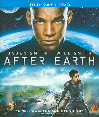After Earth (Two Disc Combo: Blu-Ray / Dvd + Ultraviolet Digital Copy  (Blu-Ray)