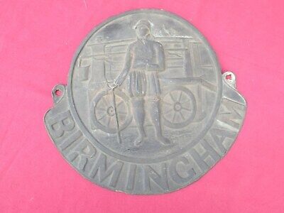 ANTIQUE  19th CENTURY BIRMINGHAM FIRE INSURANCE MARK OR PLAQUE