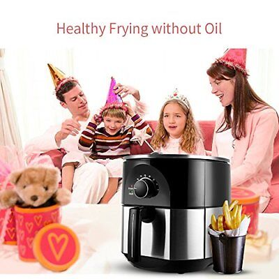 3.5 Qt Hot Air Fryer XL Accelerated Power Air Circulation Fast Healthier Cooks O