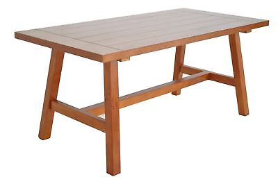 100CM Wooden Solid Pine Coffee Table Desk Living Room  Garden Patio End Unit NEW