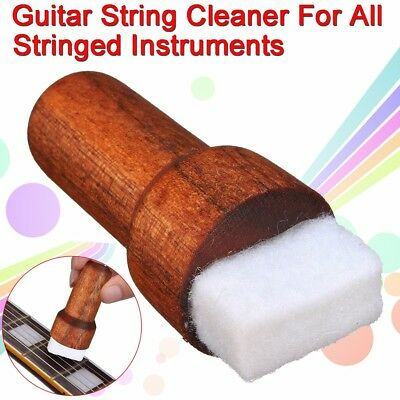 1x Fast Fret Guitar String Cleaner For All Stringed Instruments Lubricant