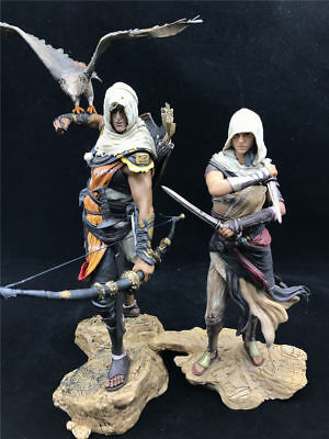 New PVC Assassin's Creed Origins Collectable ACO Bayek Aya Statue Figure