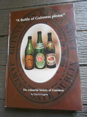 Limited & signed 1st ed Bottle of Guinness History brewery labels bottles stout