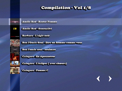 """""""NEW""""!!!...Compilation 8 DVD KARAOKE... (280 titres home made +R)"""