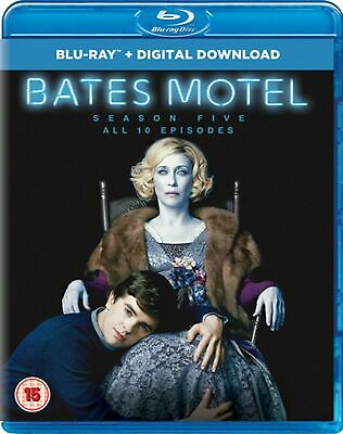 Blu Ray BATES MOTEL the complete fifth series season 5 five. New sealed.