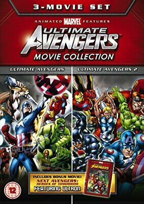 Ulitmate Avengers Triple - 3 Movie Collection [DVD] Used Very Good UK Region 2