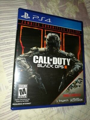 Call of Duty Black Ops 3: Zombies Chronicles Edition for PlayStation 4 PS4 *NEW*