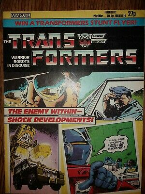 Transformers g1 Uk Comic Issue 14
