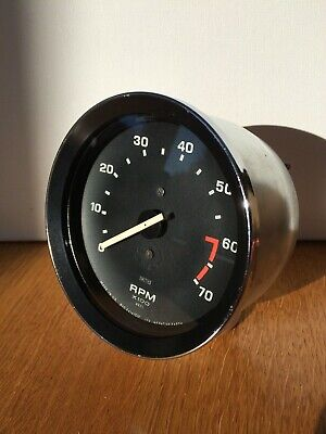 Smiths Refurbished Triumph Spitfire MG Midget 1500 Tachometer / Rev Counter 4cyl