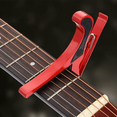 Aluminum Guitar Capo Spring Trigger Acoustic Electric Clamp Quick Change Release