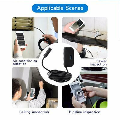 14.2mm HD CMOS Lens WiFi Endoscope 2592*1944 Waterproof Inspection