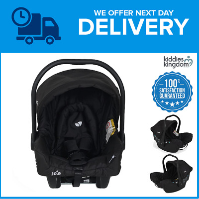 Joie Juva Classic 0+ Infant Carrier Car Seat-Black Ink (CLEARANCE SALE)