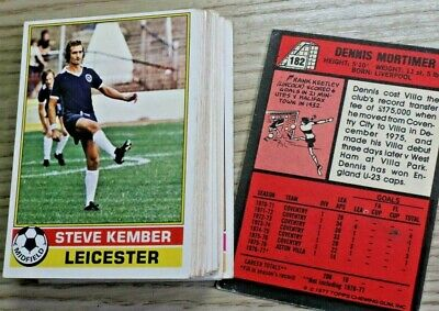 Lot 2,Topps Gum Football Cards Red Back,1-330 Pick Your Cards, 1977, Vgc
