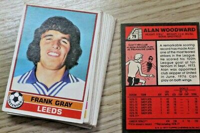 Lot4,Topps Gum Football Cards Red Back,1-330 Pick Your Cards, 1977, Vgc