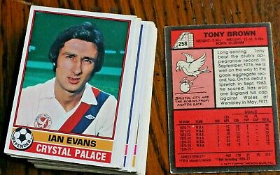 L5,Topps Gum Football Cards Red Back,1-330 Pick Your Cards, 1977, Vgc