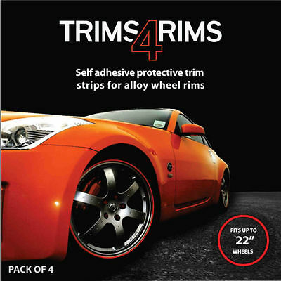 BLUE Trims4Rims by Rimblades-Alloy Wheel Rim Protectors/Rim Guards/Rim Tape