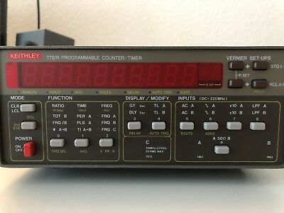 Keithley 776/R Frequency Counter 2.4GHz 53131A